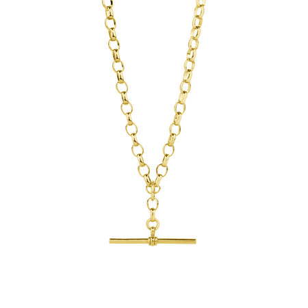 """60cm (24"""") Belcher Fob Chain in 10ct Yellow Gold"""