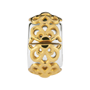 10ct Yellow Gold & Sterling Silver Flower Stopper