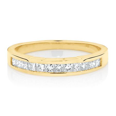 Online Exclusive - Ring with 0.42 Carat TW of Diamonds in 18ct Yellow Gold
