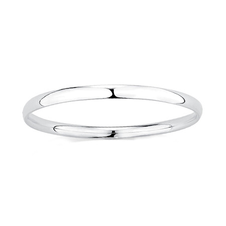 Child's Bangle in Sterling Silver