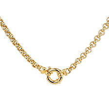 "45cm (18"") Belcher Chain in 10ct Yellow Gold"