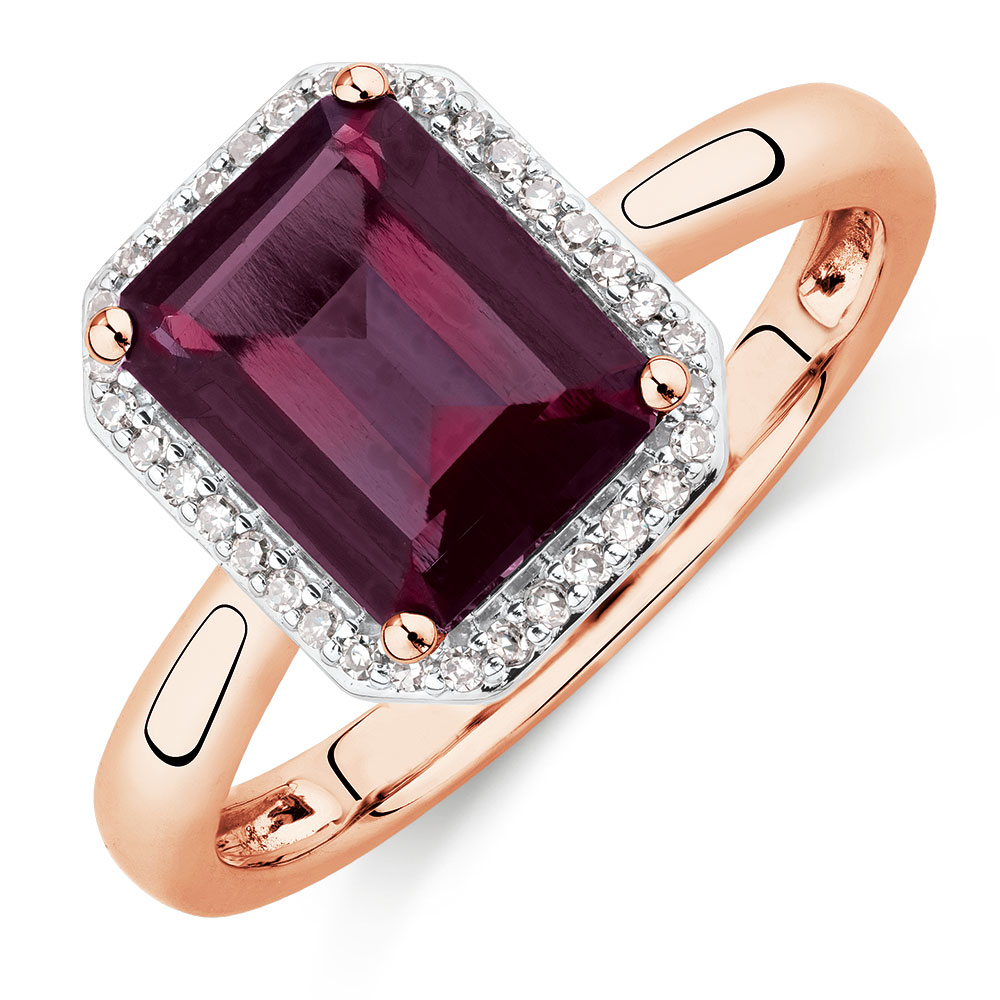 ring designs jewelry product rhodolite rings dome garnet