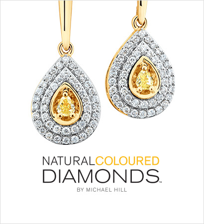Natural Coloured Diamonds By Michael Hill